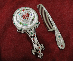 comb, fashion, and gift image