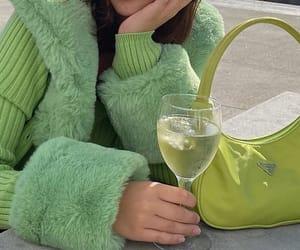 fashion, green, and bag image