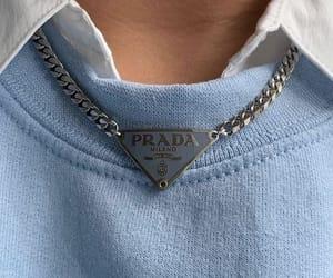 blue, Prada, and fashion image