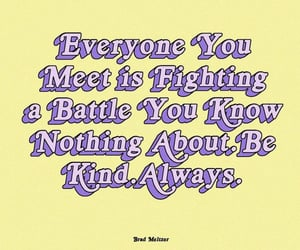 sayings, text, and be kind image