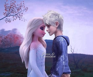 jack frost, movie, and jackelsa image