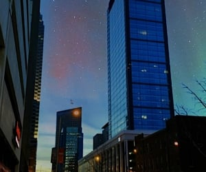 buildings, stars, and downtown image