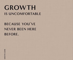 growth, quotes, and aesthetic image