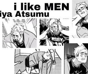 anime, meme, and atsumu image