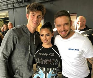 shawn mendes, one direction, and liam payne image