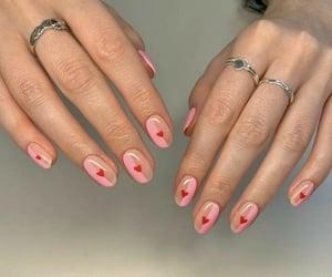 acrylics, glossy, and nails image