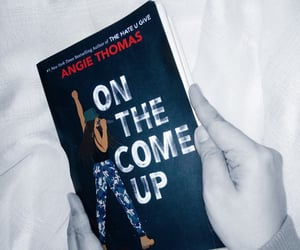 angie thomas and on the come up image
