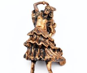 copper, modern dancer, and etsy image