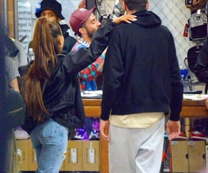 shoes, paparazzi, and ariana grande image
