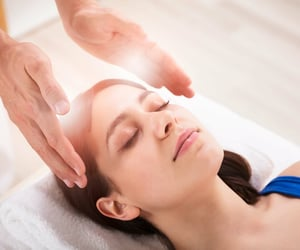 positivity, chakra healing, and reiki energy healer dubai image