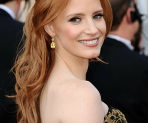 actress, ginger hair, and smile image