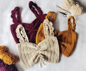 clothes, crochet, and fashion image