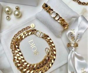 dior, fashion, and jewelry image