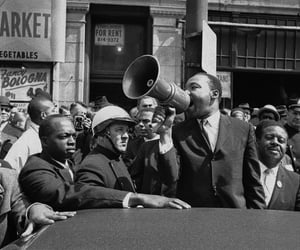 fight, icon, and MLK image