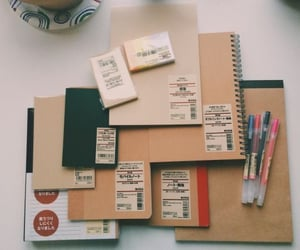 notebook, stationery, and collection image