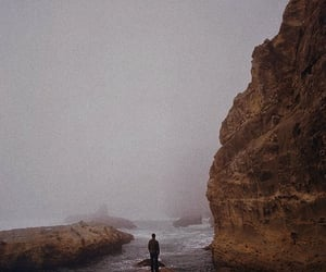 grunge, sea, and lonely image