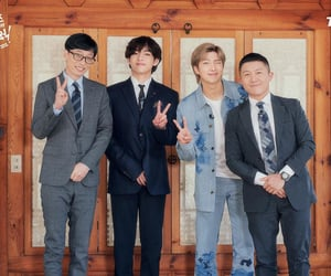 bts, taehyung, and namjoon image