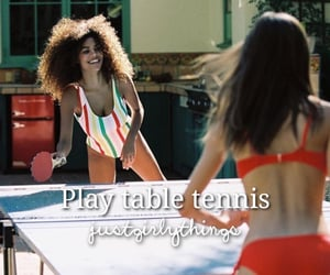 play, table tennis, and bucket list image