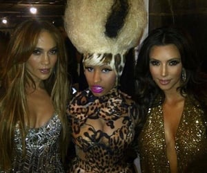 nicki minaj, kim kardashian, and Jennifer Lopez image