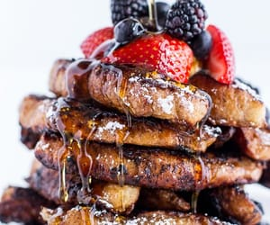 food, french toast, and sweet image