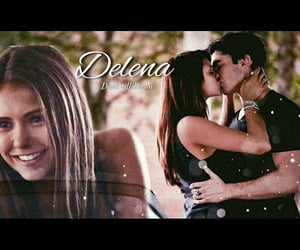 damon, elena, and fanedit image
