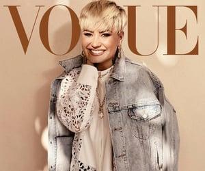 demi lovato, vogue magazine, and model image