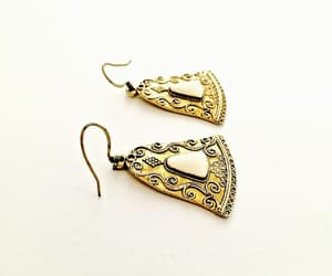 etsy, vintage jewelry, and boho earrings image