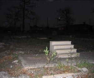 abandoned, concrete, and night image