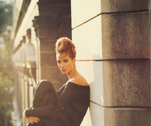 Christy Turlington, model, and editorial image