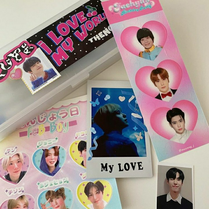 johnny, kpop, and stickers image
