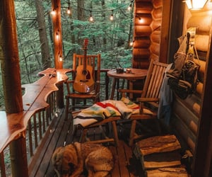 cabin and cozy image