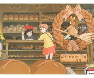 anime, bakery, and food image