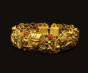 etsy, egyptian bracelet, and art deco bracelet image