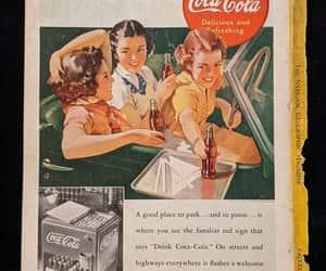 coca-cola, ephemera, and etsy image