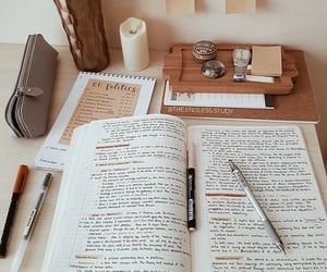 aesthetic, beige, and college image