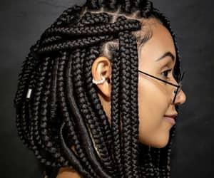cabelos curtos, box braids, and salaovirtual image