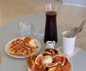 breakfast, cafe, and seoul image