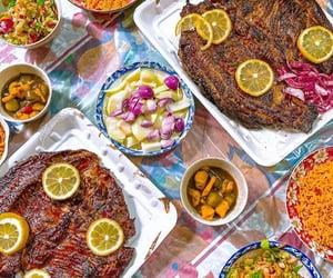fish, العراق , and طعام image
