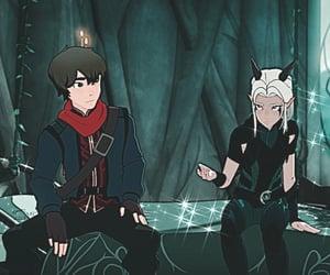 boy, elf, and mage image