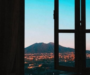 Naples, view, and vesuvio image