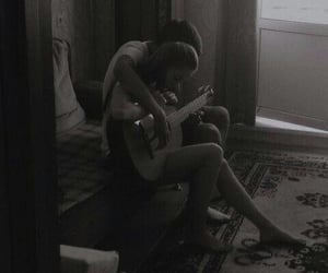aesthetic, guitar, and lovers image