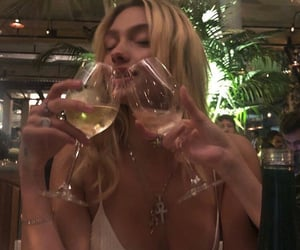aesthetic, champagne, and drink image