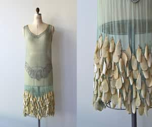 1920s, dress, and etsy image