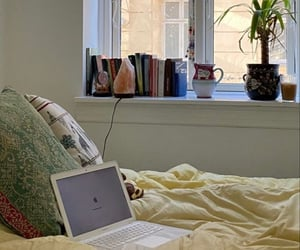 bedroom, books, and studying image