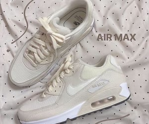 beige, white, and airmax image