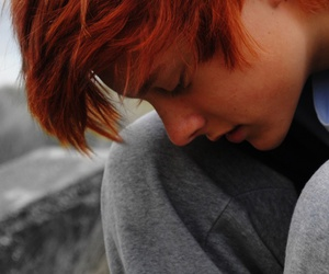 gorgeous, guy, and redhead image