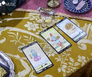 tarot cards and gfriend image