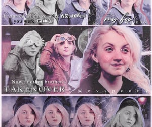 character, harry potter, and luna lovegood image