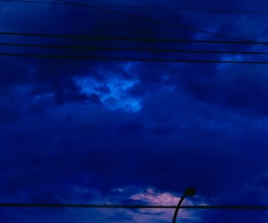 blue, night, and skies image