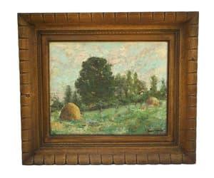etsy, landscape painting, and impressionist art image